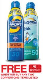 Target: Coppertone Sunscreen Products as Low as Only $1.24 Each (After Gift Card)