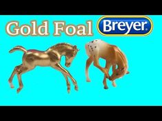 Custom paint your own golden foal inspired by the Breyer Mystery Surprise Foal family Stablemates playsets. Find A Boyfriend, Set Honey, Christmas Horses, All About Horses, Family Set, Gold Diy, Breyer Horses, Crazy Colour, Custom Paint