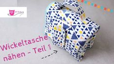DIY Eule: Wickeltasche / Windeltasche selber nähen - Teil 1