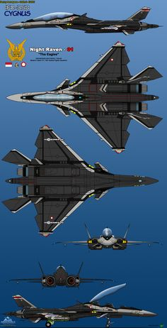 """ Engage as a formation. No single-ship attacks. "" - Yellow 13 - The Federal Erusean Air Force Tactical Fighter Wing Aquila, more popularly known as Yellow Squadron. Stealth Aircraft, Fighter Aircraft, Military Jets, Military Aircraft, Air Fighter, Fighter Jets, Jet Plane, Bomber Plane, Starship Concept"