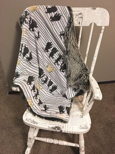 Where the Wild Things Are Minky Baby Blanket Minky by KozyKittos