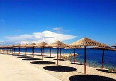 Beach in Vir (Croatia) Vir Croatia, Croatian Islands, Bosnia And Herzegovina, Montenegro, Patio, World, Beach, Places, Outdoor Decor