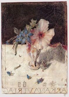 ❀ Blooming Brushwork ❀ - garden and still life flower paintings - Horst Janssen Arkana