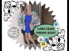 Como Fazer Kimono Estilo Boho - Claudineia Antunes