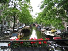 Lovely water channels... Amsterdam-Holland
