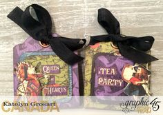 How to Create Halloween Treat Tags Using G45