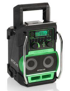 Hitachi UR 18DSL Radio de chantier (Import Allemagne)