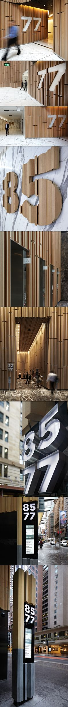 77-85 Castlereagh St, Australia by Büro North 2012 / 인테리어 소재에 따라서.