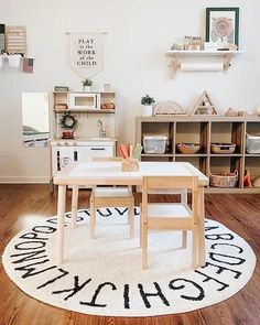 Montessori Playroom, Toddler Playroom, Maria Montessori, Boys Playroom Ideas, Kids Bedroom Ideas, Ikea Kids Bedroom, Children Playroom, Toddler Room Decor, Play Room For Kids
