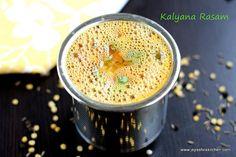 Kalyana rasam - without rasam powder or tamarind South Indian Weddings, South Indian Food, Vegetable Recipes, Vegetarian Recipes, Cooking Recipes, Rasam Recipe, Indian Food Recipes, Ethnic Recipes, Secret Recipe