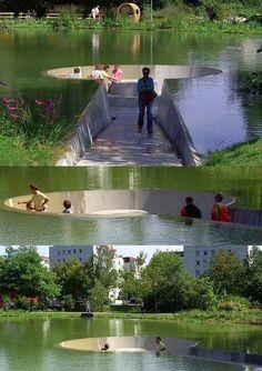 Australia's coolest public pond!