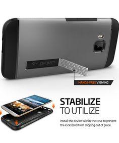 Spigen Slim Armor Case HTC One M9 Gunmetal