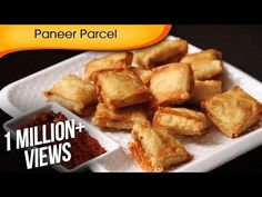 Paneer Parcel Quick Easy To Make Party Starter / Crispy Snack Recipe By Ruchi Bharani Snack Recipes video recipe Vegetarian Starter Recipes, Vegetarian Starters, Paneer Snacks, Paneer Recipes, Appetizer Recipes, Snack Recipes, Indian Appetizers, Snacks Ideas, Indian Snacks