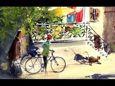 Life scene in a village (version 2) large paper size - YouTube