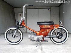 Honda cub chop