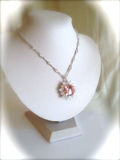 Vintage Sterling Silver Pink Sapphire and by WOWTHATSBEAUTIFUL, $259.00
