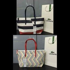 88152e198f792 Lacoste horizontal tote bag 👰💋👜👜👜  lacosteph  lacostebags  onlineshop…