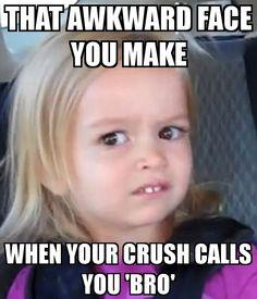 flirting meme awkward face meme face girl