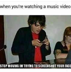 Lol Why Is This So Me On MCR Music Videos