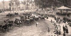 Paseo de la Reforma, Ciudad de México. Año de 1888.