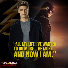 There's a hero in all of us. Watch Barry go from ordinary to the extraordinary in #FlashS1DVD!