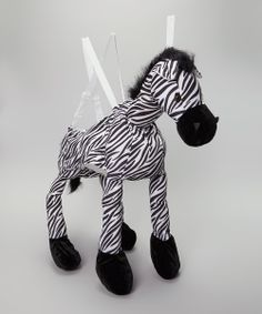 Zebra Wrap & Ride Dress-Up Outfit