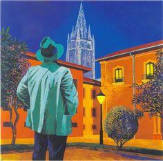 Oviedo y la pintura: Oviedo antiguo