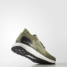 Ultra Boost Uncaged in Base Green