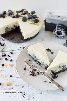 Sütés nélküli, gyors áfonyás torta   sutisdobozoom