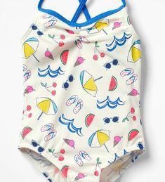 print & pattern Kids Patterns, Summer Patterns, Print Patterns, Beach Kids, Summer Kids, Conversational Prints, Skirts For Kids, Swedish Fashion, Kids Swimwear