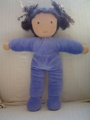 I have long admired these Waldorf dolls, but not the steep price tags. Here's a tutorial for making your own.