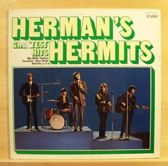 HERMAN-S-HERMITS-Gretest-Hits-Vinyl-LP-No-Milk-Today-There-s-a-Kind-of-Hush