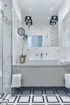 Aranżacja łazienki w nowojorskim stylu - Lovingit.pl
