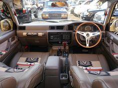 ランクル80内装 ペンドルトンコラボ カスタムコンプリート Toyota Landcruiser80 FZJ80G 【PENDLETON】and【flexdream】collaboration- interior custom.
