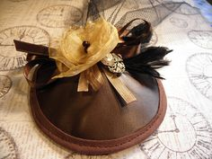 MarySew » How To: Make a Steampunk/Burlesque Fascinator Hat