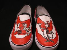 Painted shoes   Custom Designed Hand Painted Shoes by TheSoleArtist on Etsy