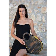 PRODUCTS :: WOMEN :: ACCESSORIES :: Handbags :: Oval Wooden Handbag in Evenus | A' Design Award