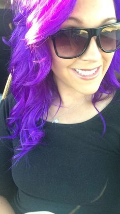 Just did my hair on Friday! and I LOVE THE new change! I used Scruples Urban Shock Purple and Scruples ER