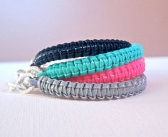 12 Best Plastic Lace Images On Pinterest Braided Bracelets Lace