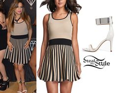 """Fifth Harmony Times A Charm Tour"""" Meet & Greet in Baltimore, June 2014 - photo: Skater Skirt, Midi Skirt, Ally Brooke, Fifth Harmony, Her Style, Passion For Fashion, Celebrity Style, Zara, Outfits"""