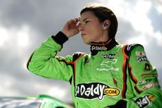 Danica Patrick qualifing at Daytona