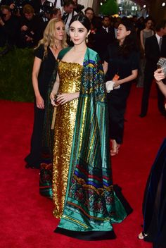 NEW YORK, NY - MAY 04:  Fan Bingbing attends the 'China: Through The Looking Glass' Costume Institute Benefit Gala at Metropolitan Museum of Art on May 4, 2015 in New York City.  (Photo by George Pimentel/WireImage)