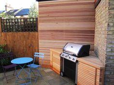 Barnes town garden Urban Garden Design, Bbq Area, Beautiful Gardens, The Hamptons, Home Appliances, London, Outdoor Decor, Home Decor, Image