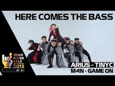 Here Comes The Bass | Arius & TinyC | Yeah1 Superstar - YouTube