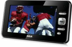 Axion AXN-8701 7-Inch Widescreen Handheld LCD TV with Built-In Tuner, Black   Software And Social