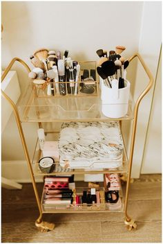 Spare Bedroom Transformed Into Glam Office - Haute. - Spare Bedroom Transformed Into Glam Office – Haute Off The Rack – – Spare Be - Teenage Room Decor, Rooms For Teenage Girl, Teen Rooms, Room Ideas Bedroom, Bedroom Designs, Bedroom Office, Master Bedroom, Bedroom Decor, Modern Bedroom