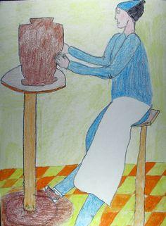 Un artigiano al lavoro...