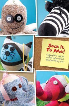 cute links to sock stufffed animals!