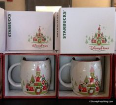 NEED: Spotted: 2015 Starbucks Disney Parks Holiday Souvenir Mug