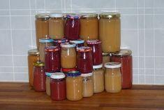 Jitu: Domácí přesnídávka bez cukru česky Hot Sauce Bottles, Baby Food Recipes, Pickles, Sugar Free, Smoothie, Salsa, Food And Drink, Jar, Homemade